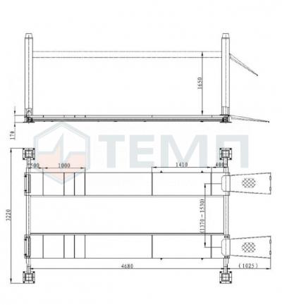 Подъемник TEMP TFA5000-3D