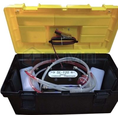 Установка для замены и промывки ГУР TEMP SL-120