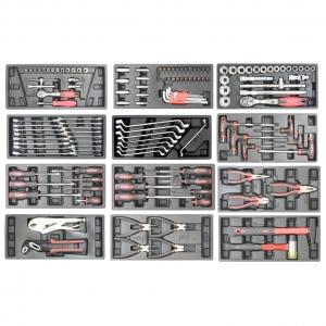 Тележка инструментальная с набором инструментов 138 предметов