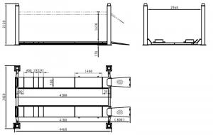 Подъемник TEMP TFA4500-3D