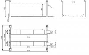 Подъемник TEMP TFL5000-3D